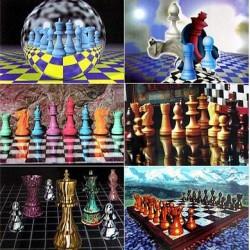 Chess postcards
